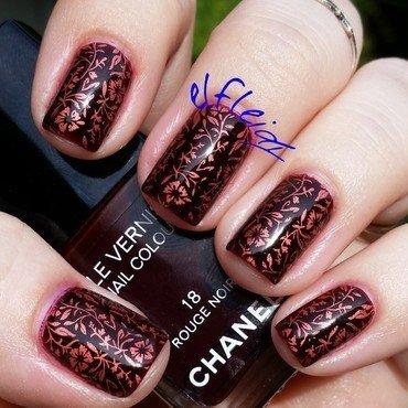 Stamping Sunday 09-13-2015 nail art by Jenette Maitland-Tomblin