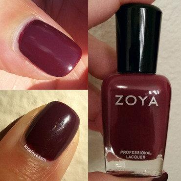 Zoya Toni Swatch by kitalovessm