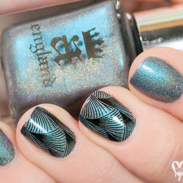 A-England Captive Goddess Swatch by Lacquered Obsession