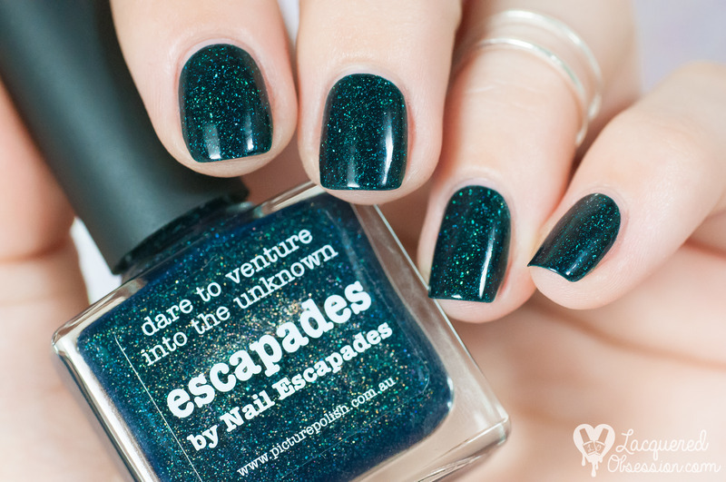 piCture pOlish Escapades Swatch by Lacquered Obsession