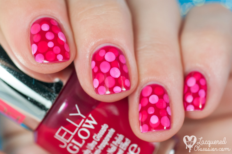 Jelly Pond nail art by Lacquered Obsession