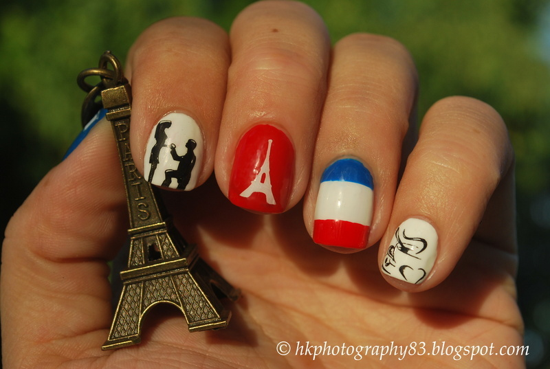 Paris nail art nail art by Hana K.