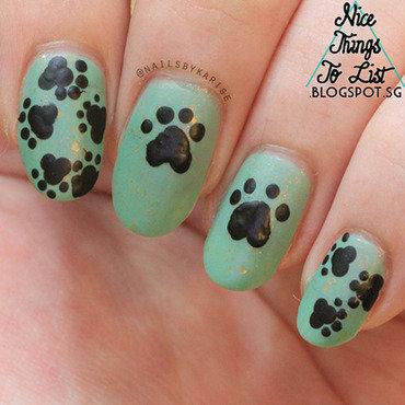 31dc2015 animal print paws nail artdownsize thumb370f