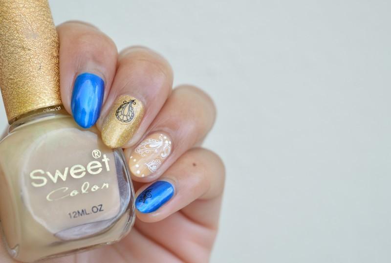 Beautiful stickers nail art by MimieS Nail