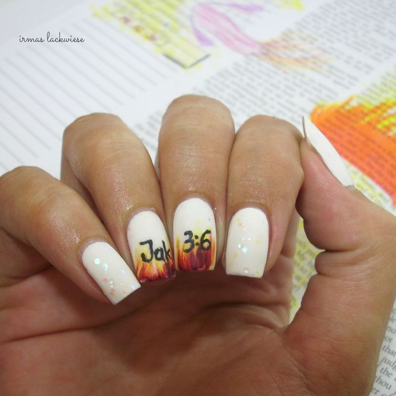 nails inspired by james 3.6 nail art by irma