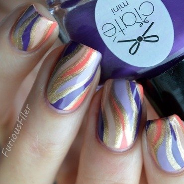 31dc2015 inspired by a color nail art by Furious Filer