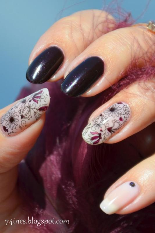 Funerals Of Hearts nail art by 74ines