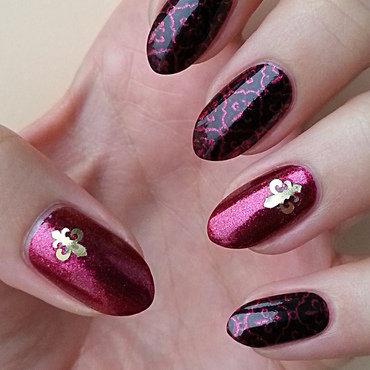Baroque Nails nail art by Mgielka M