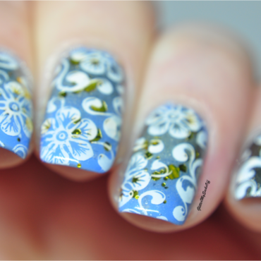 Summer bliss nail art by GlitterMySocksOff