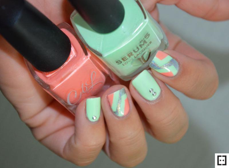 Bye bye summer nail art by Sweapee