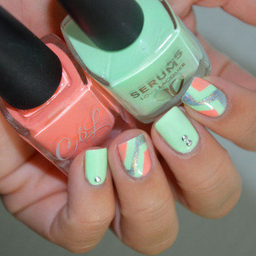 Bye bye summer nail art by Sweapee