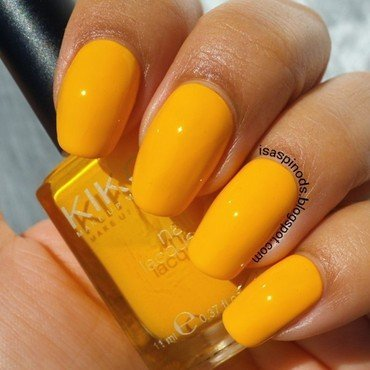 Kiko 279 yellow Swatch by Isabel