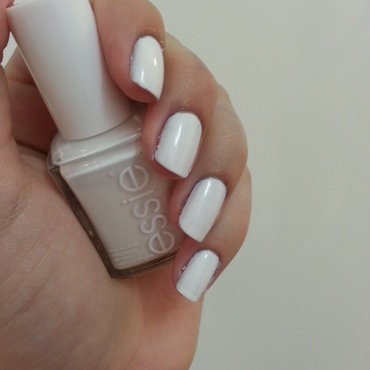 Essie Blanc Swatch by Maya Harran