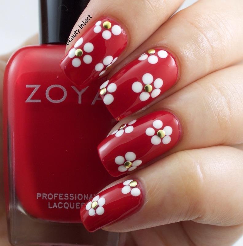 Cute Floral Nails nail art by Beauty Intact