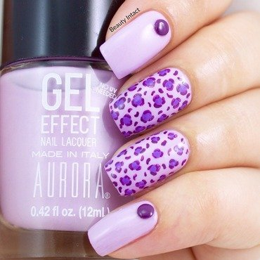 Leopard Print nail art by Beauty Intact