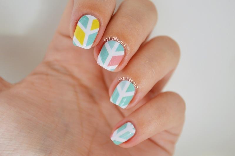Itspersonail nailwraps nail art by Julia