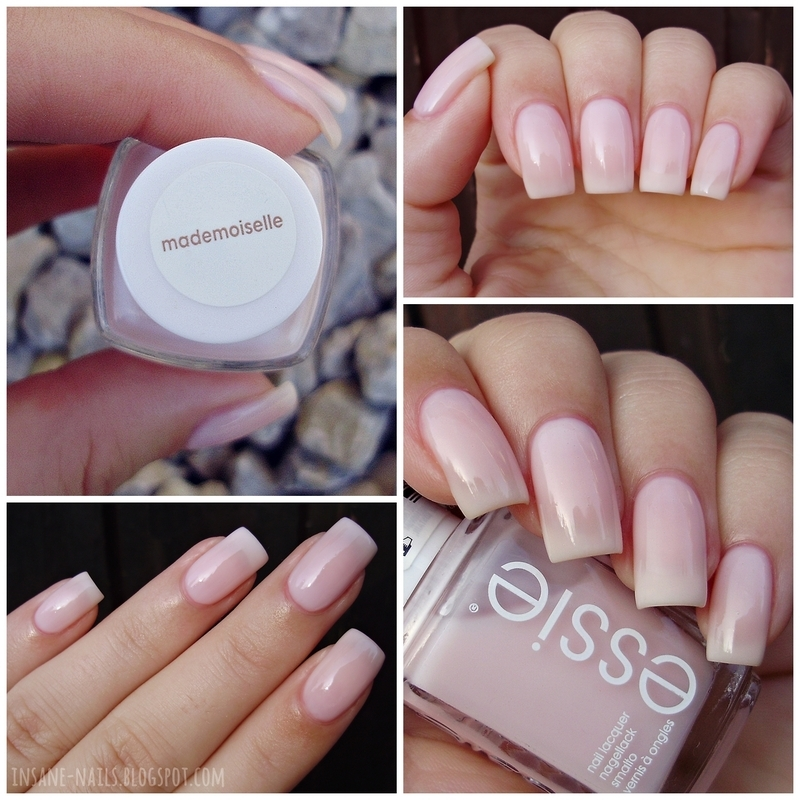 Essie Mademoiselle Swatch by Sanela - Nailpolis: Museum of Nail Art