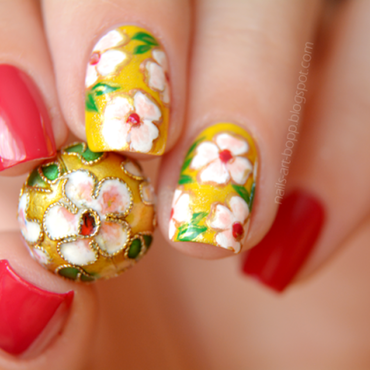 Bead inspired nails :)  nail art by bopp