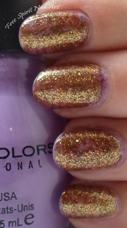 Glitter Cover Up nail art by Free_Spirit_Nail_Art