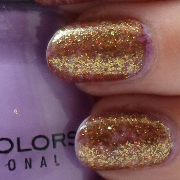 Glitter Cover Up nail art by Free_Spirit_Nail_Art
