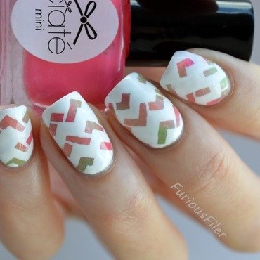 31DC2015 Inspired by artwork nail art by Furious Filer