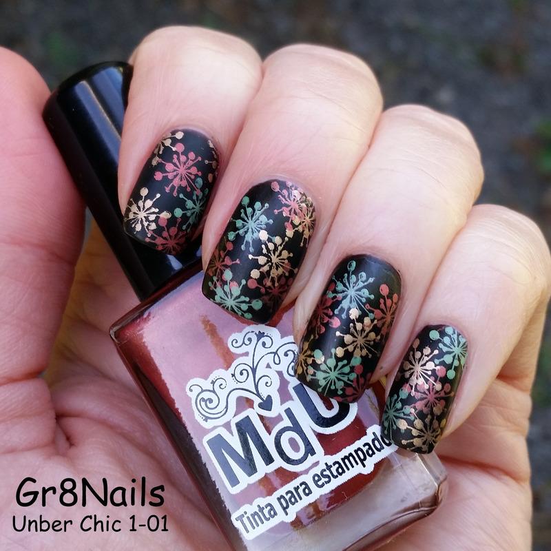 Autumn nail art by Gr8Nails