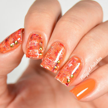 31DC2015: Day 21, Inspired by a Color nail art by Playful Polishes