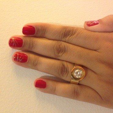 Roulette  nail art by Elyana