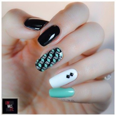 Nordicolor nail art by Love Nails Etc