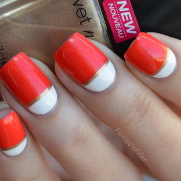 31DC2015Inspired by a flag nail art by Furious Filer