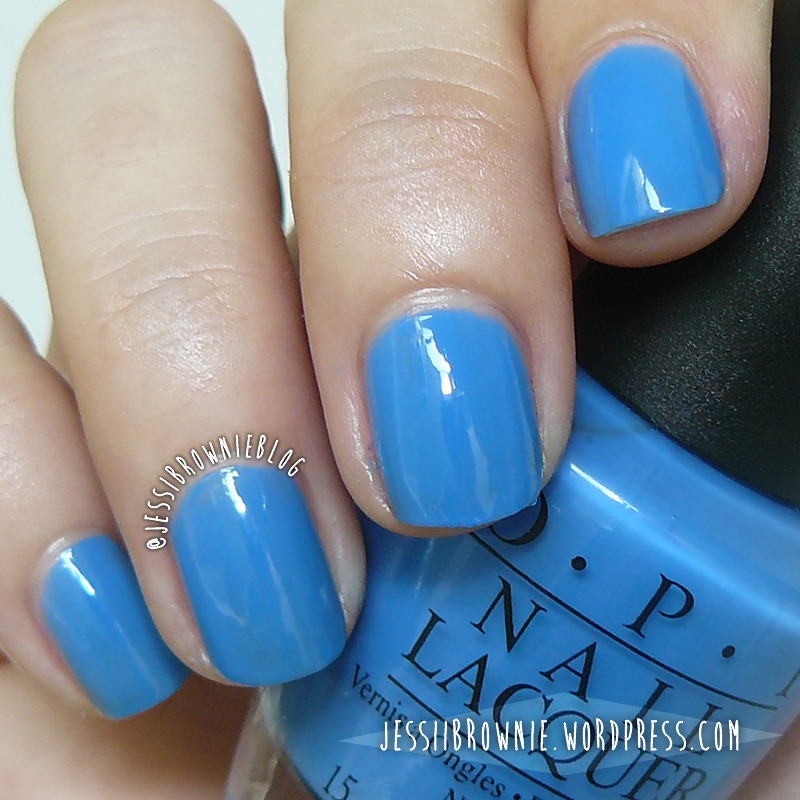 O.P.I No room for the blues Swatch by Jessi Brownie (Jessi)