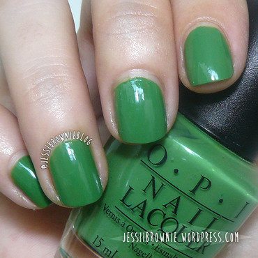 OPI Green-wich Village Swatch by Jessi Brownie (Jessi)