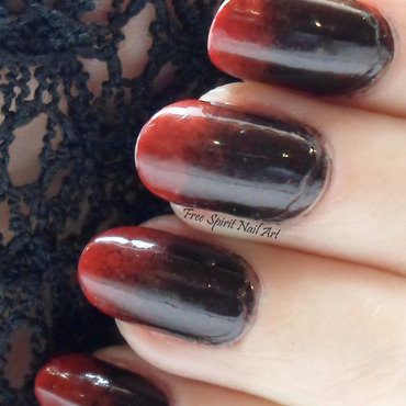 Vampy Nails nail art by Free_Spirit_Nail_Art