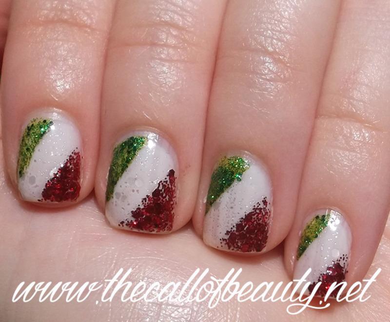 Italian Flag nail art by The Call of Beauty - Nailpolis: Museum of ...