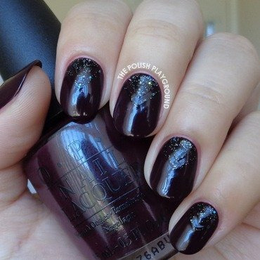 Vampy 20purple 20with 20glittery 20black 20double 20chevron 20half 20moon 20nail 20art thumb370f