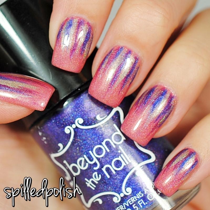Waterfall Nails nail art by Maddy S
