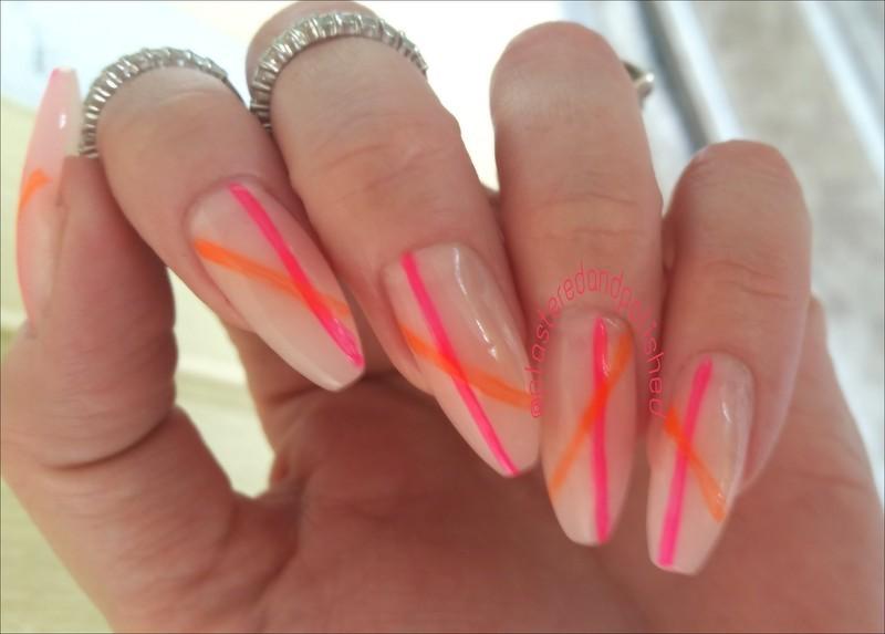 Line Art Nails : Coffin nails line art nail by anne marie dyal nailpolis