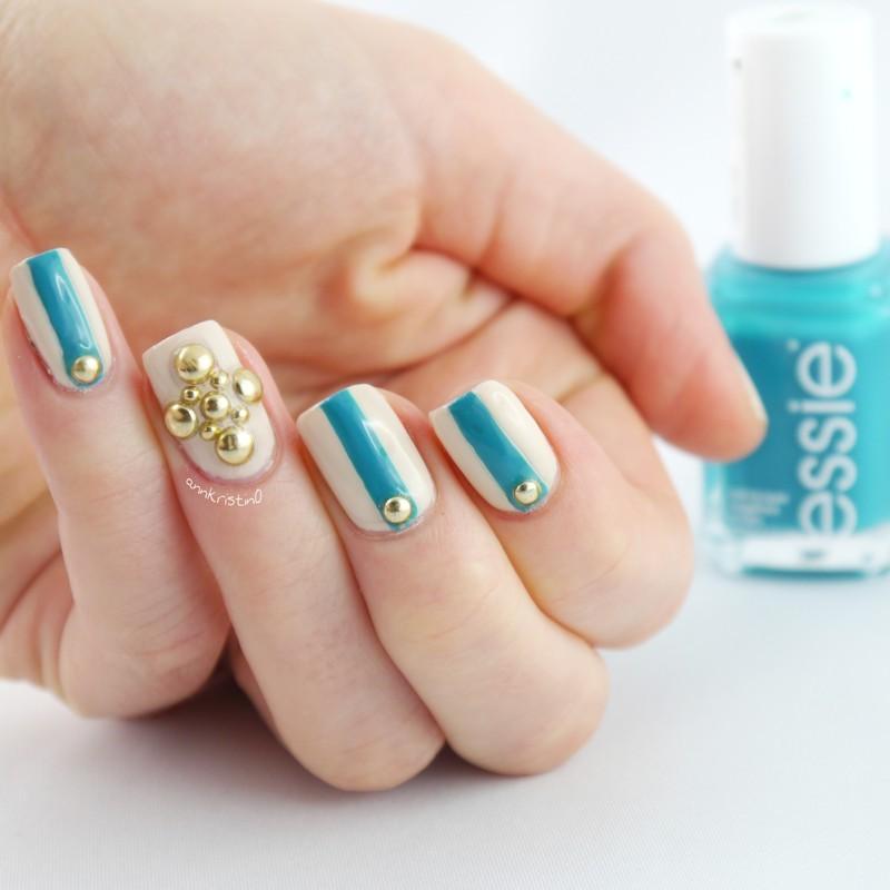 DW Dapper Nailart nail art by Ann-Kristin