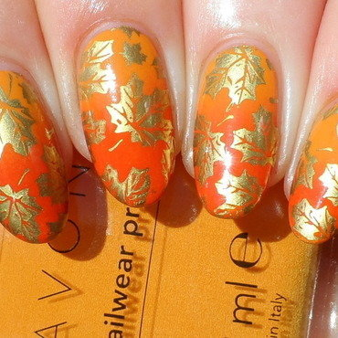 Fall nail art by Plenty of Colors