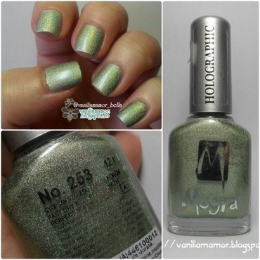 Moyra Holographic 253 Swatch by Isabella