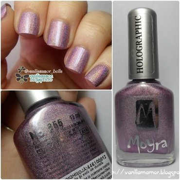 Moyra Holographic 255 Swatch by Isabella