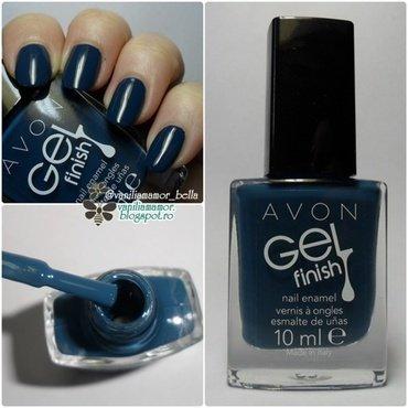 Avon Marine Blue Swatch by Isabella