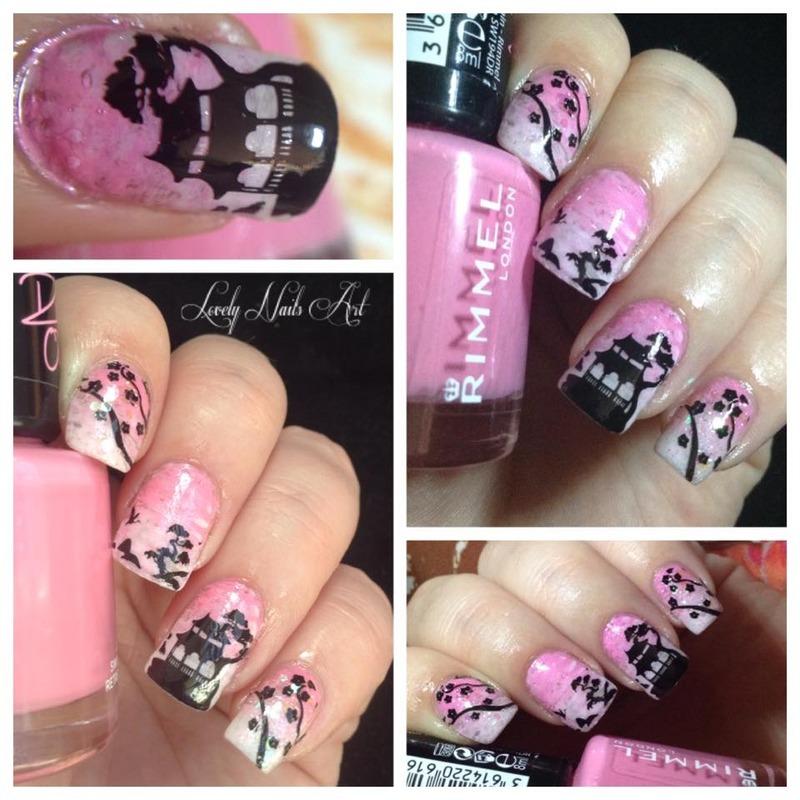 Nail art stamping *japon* nail art by Lovely Nail's  Art