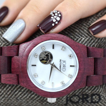 Jord wood watch cora purpleheart 20 8  thumb370f