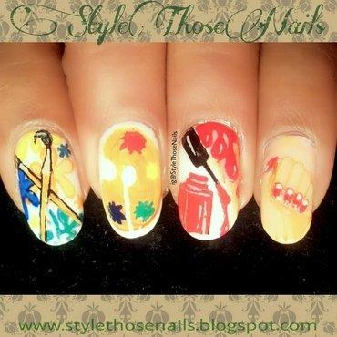 Hobby Nails nail art by Anita Style Those Nails