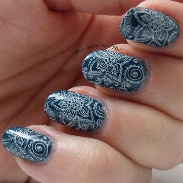 Pueen Squishy Stamper nail art by Free_Spirit_Nail_Art