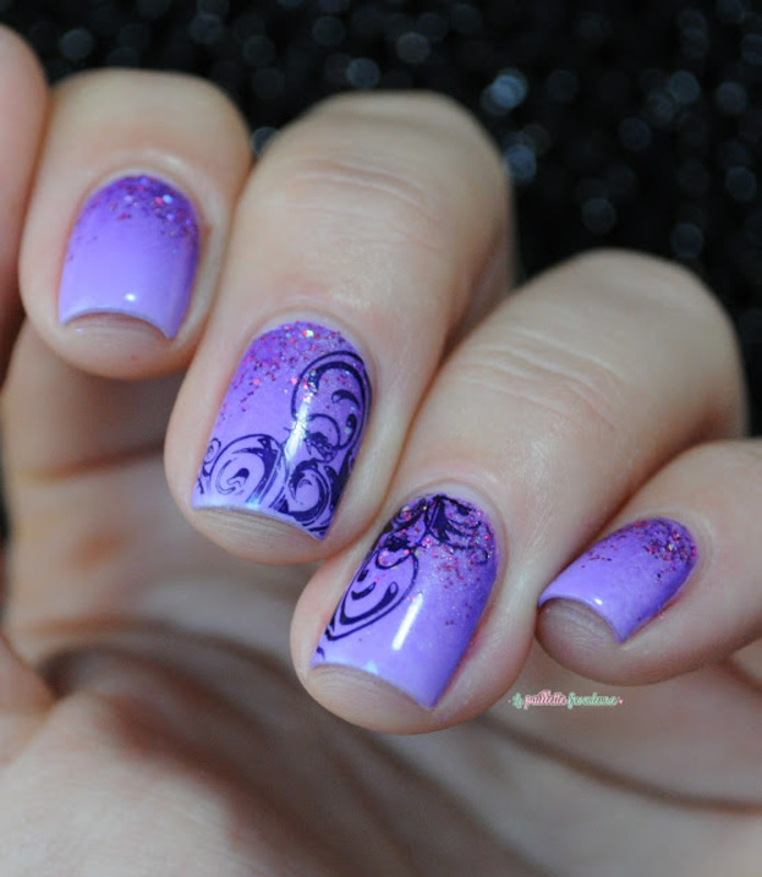 violet obsession nail art by nathalie lapaillettefrondeuse