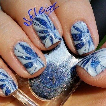 30DoCC 09-30-2015- Swatcher's choice nail art by Jenette Maitland-Tomblin