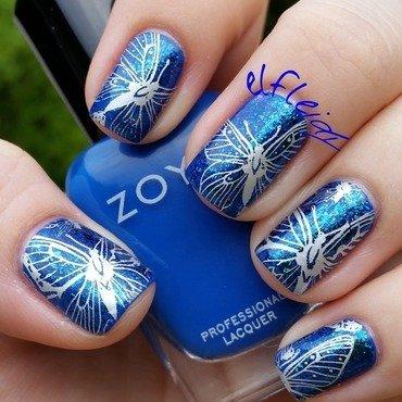 30DoCC 09-29-2015- Your favorite color nail art by Jenette Maitland-Tomblin