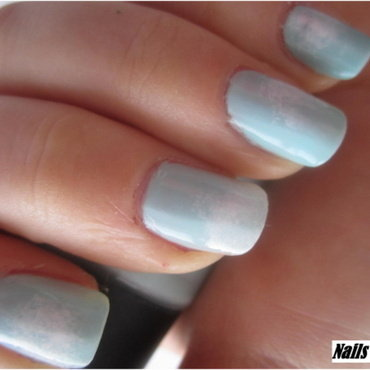 05 BLUE nails nail art by NailsandEl